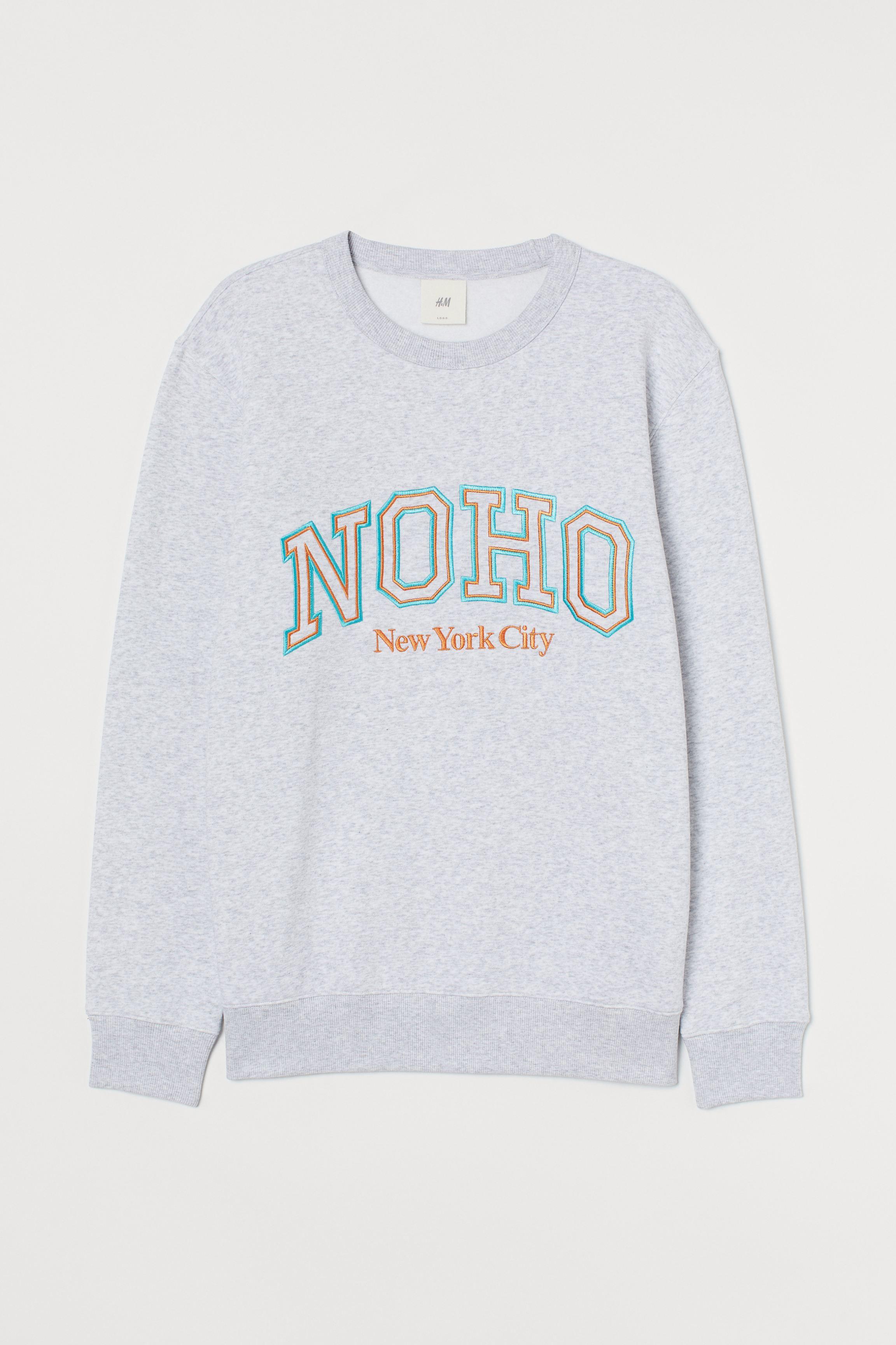 Graphic-detail Sweatshirt
