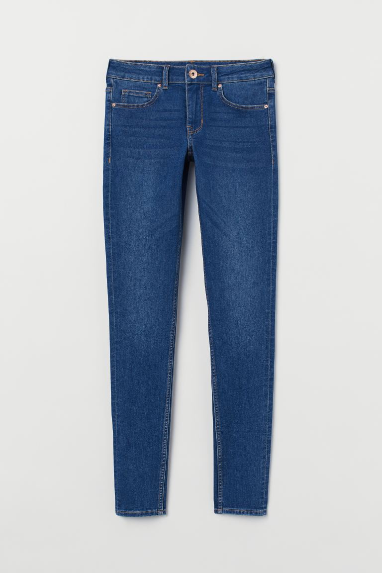 Super Skinny Regular Jeans - Син - ЖЕНИ | H&M BG