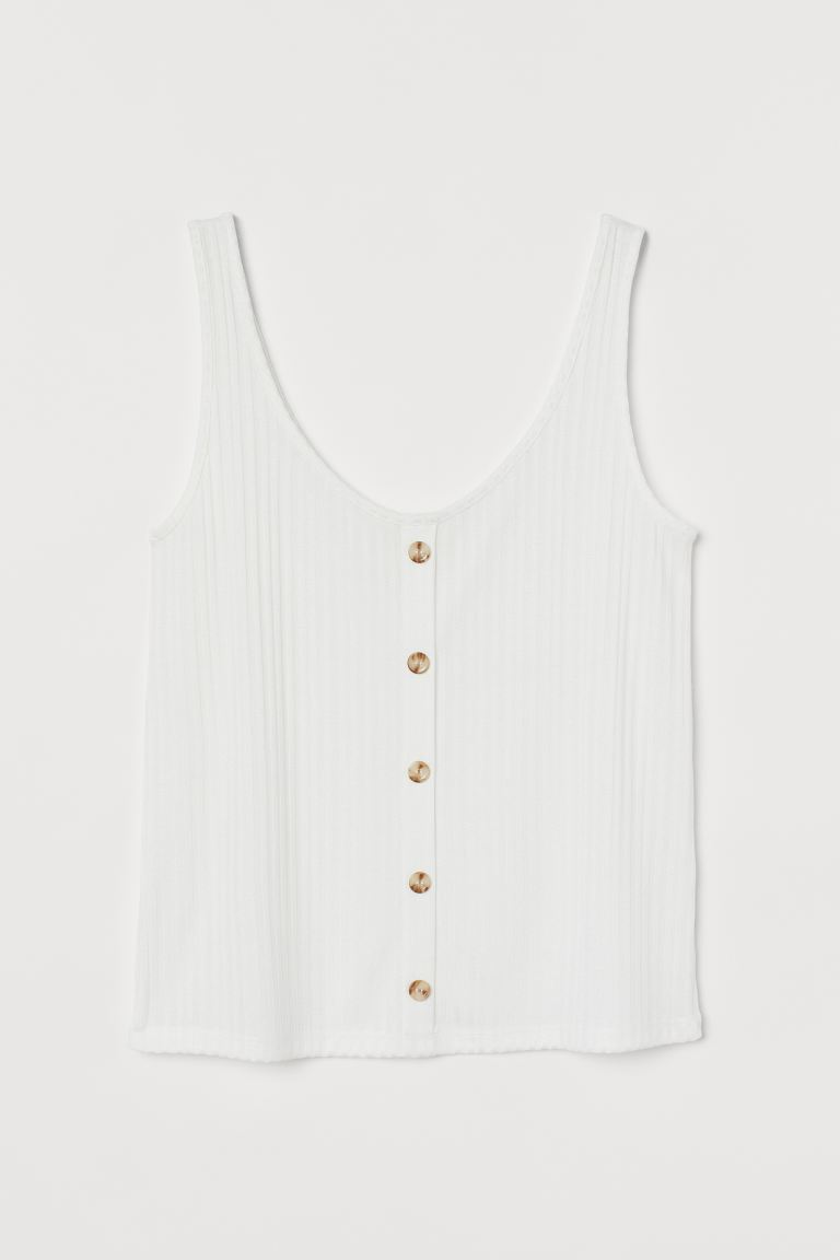 Basic Ribbed Vest