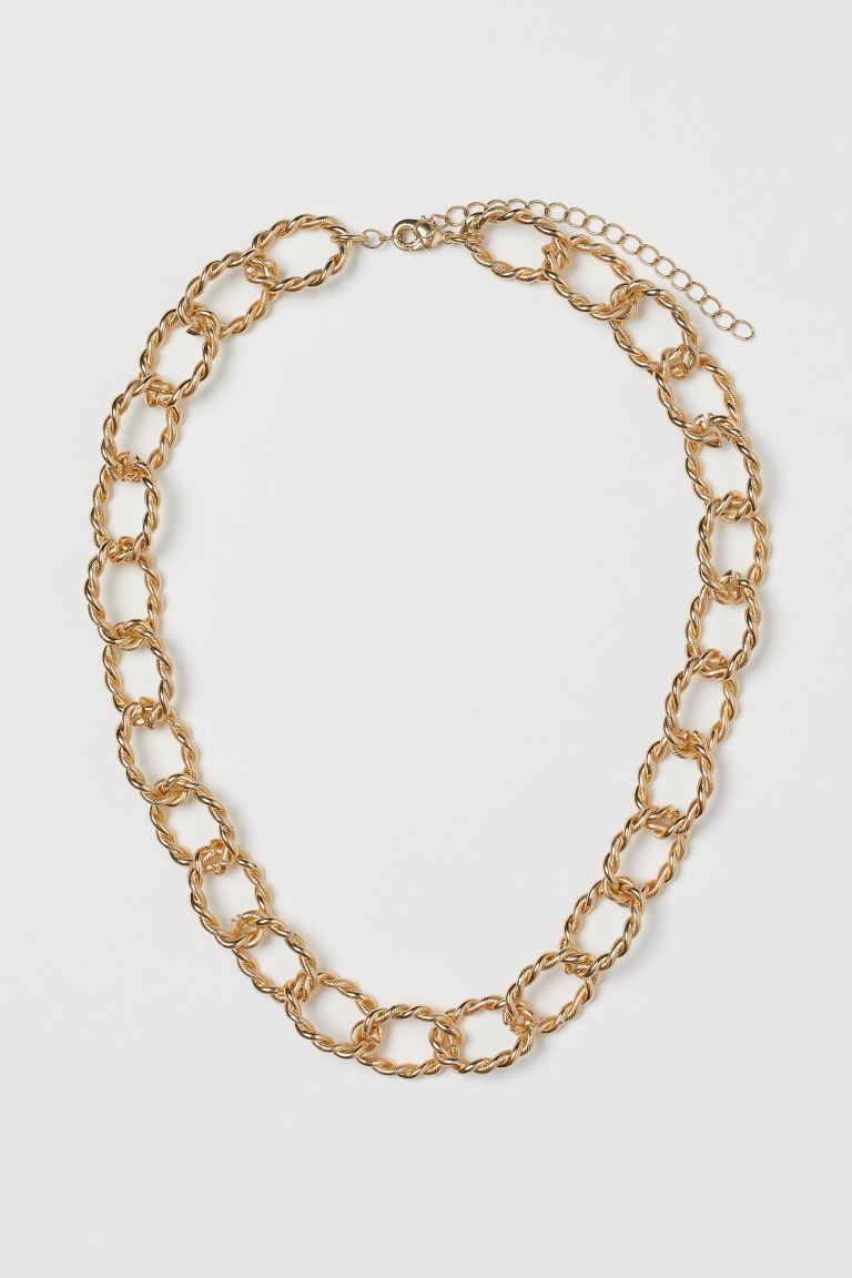 Kurze Glieder-Halskette