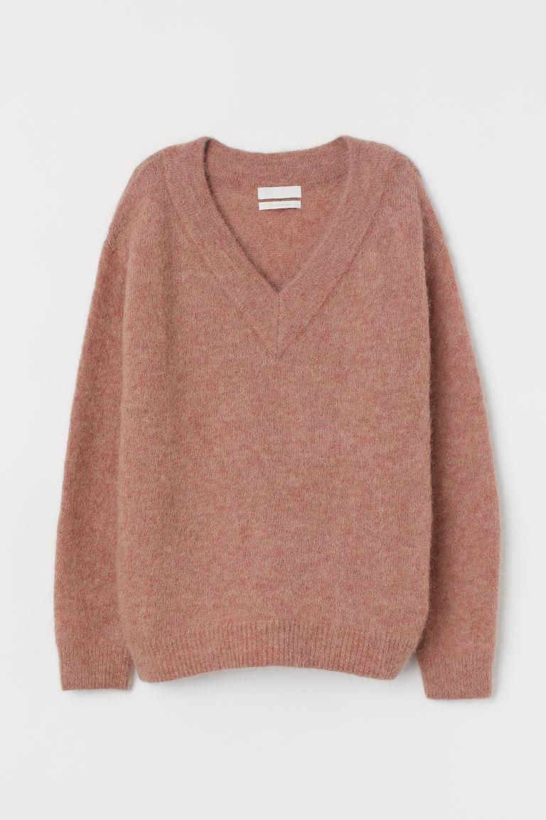 Wool Blend Pink Jumper