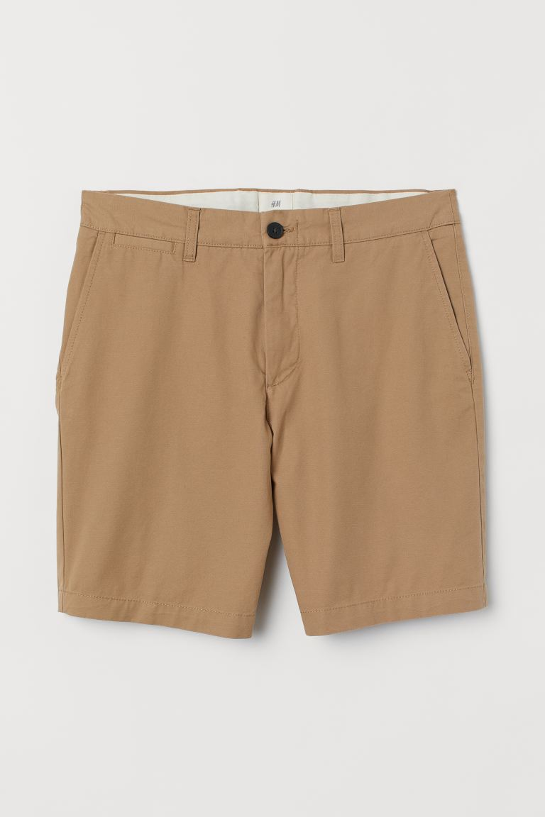 Shorts chino - Beige caqui - Men | H&M US