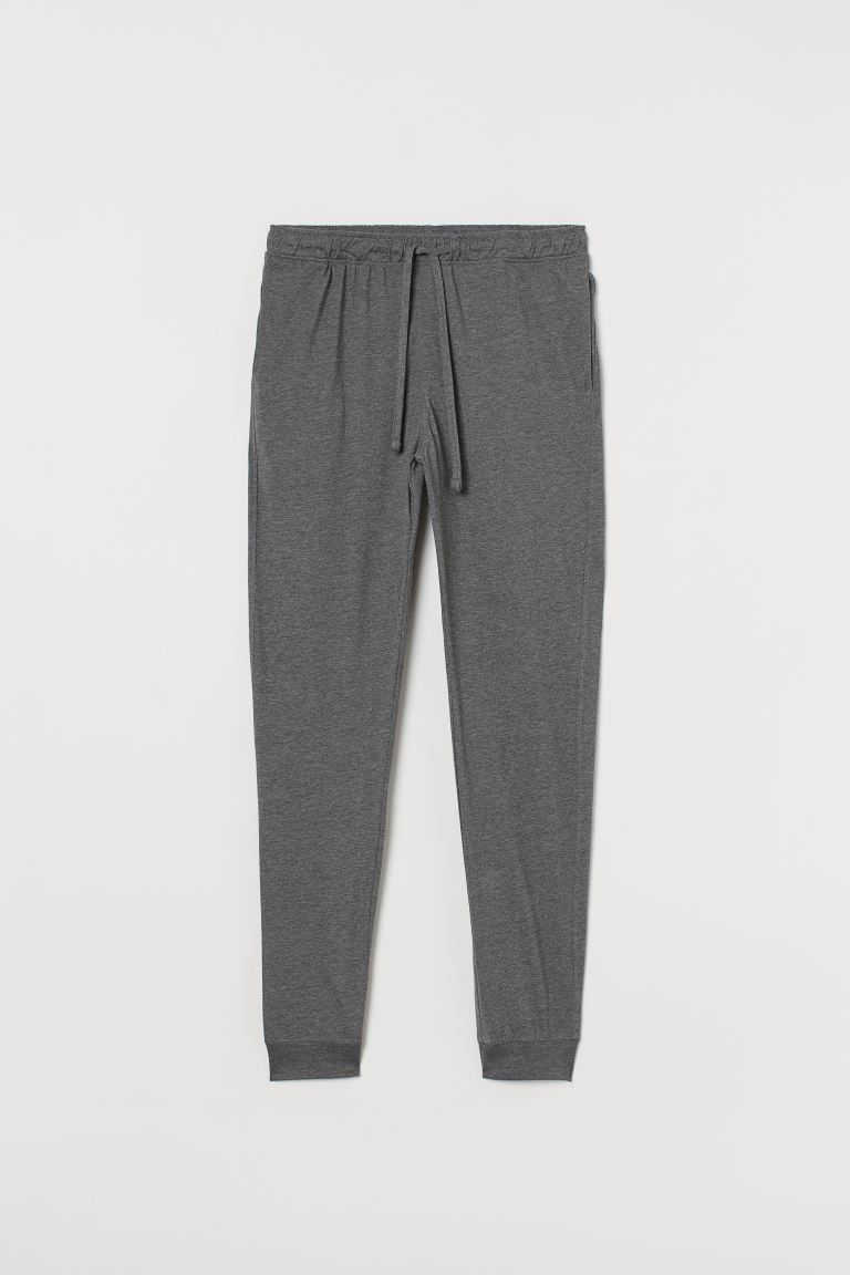 Pajama Pants - Gray melange - Men | H&M CA