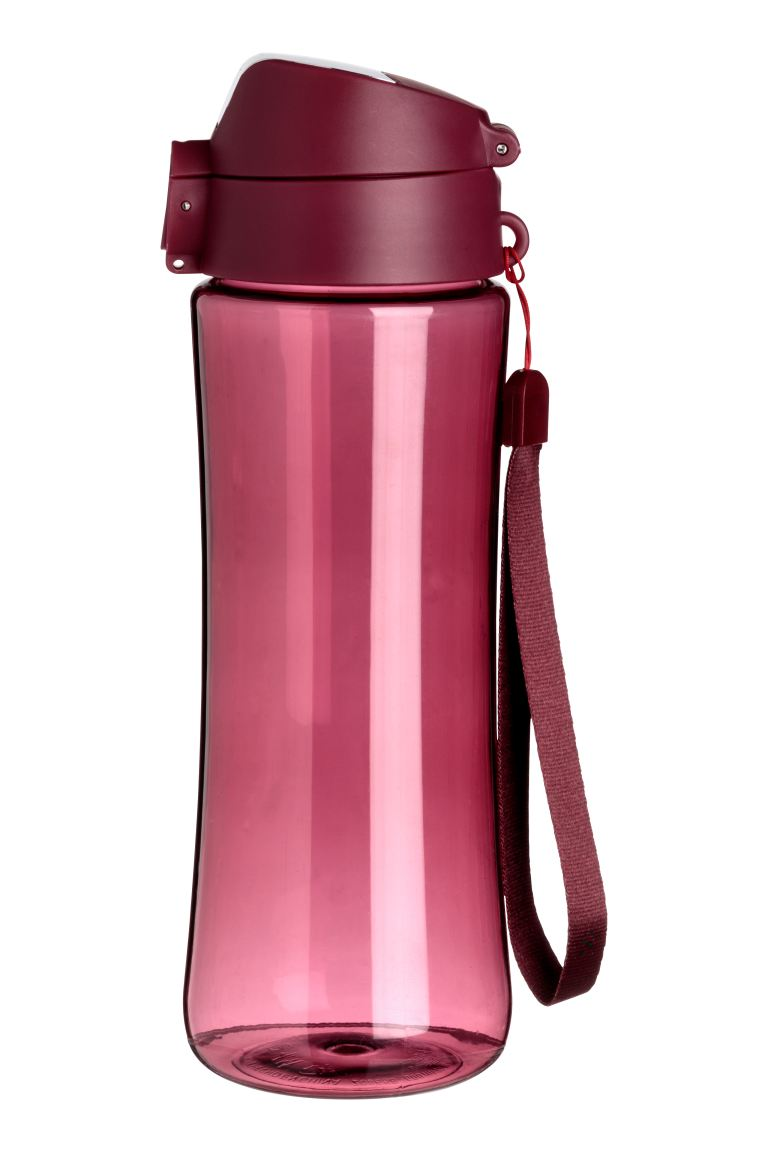 Water bottle with a lid - Rust red - Ladies | H&M GB