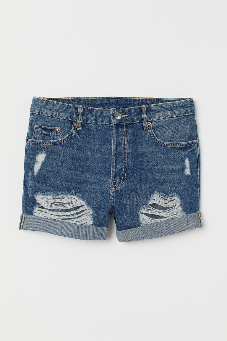 Denimshorts Boyfriend - Blau - Ladies | H&M DE