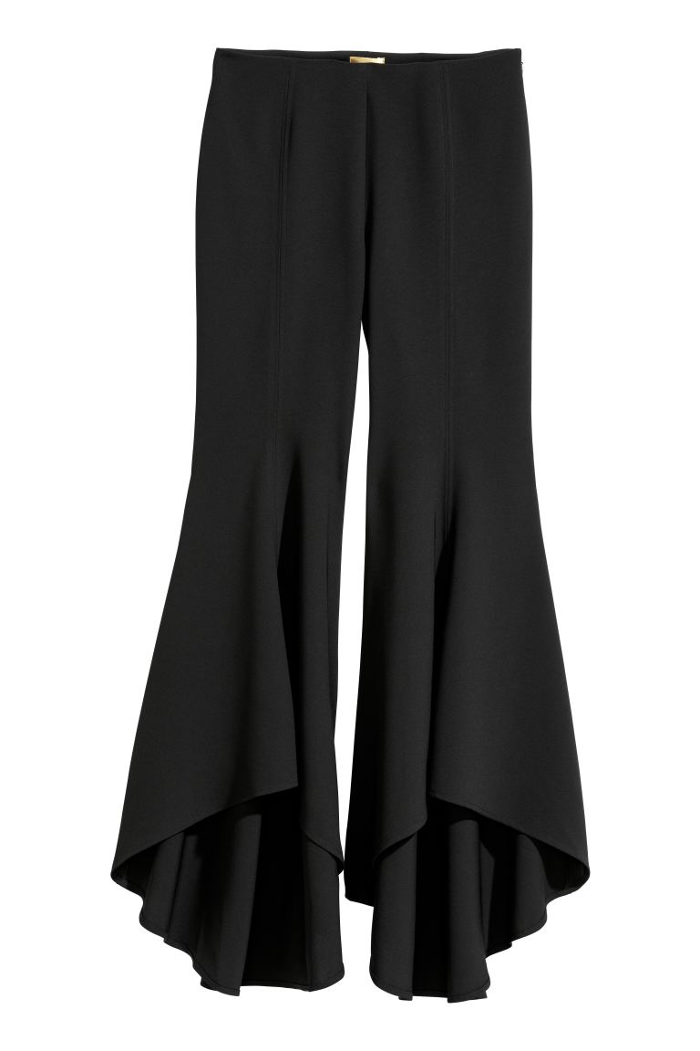 Flared Pants - Black - Ladies | H&M CA