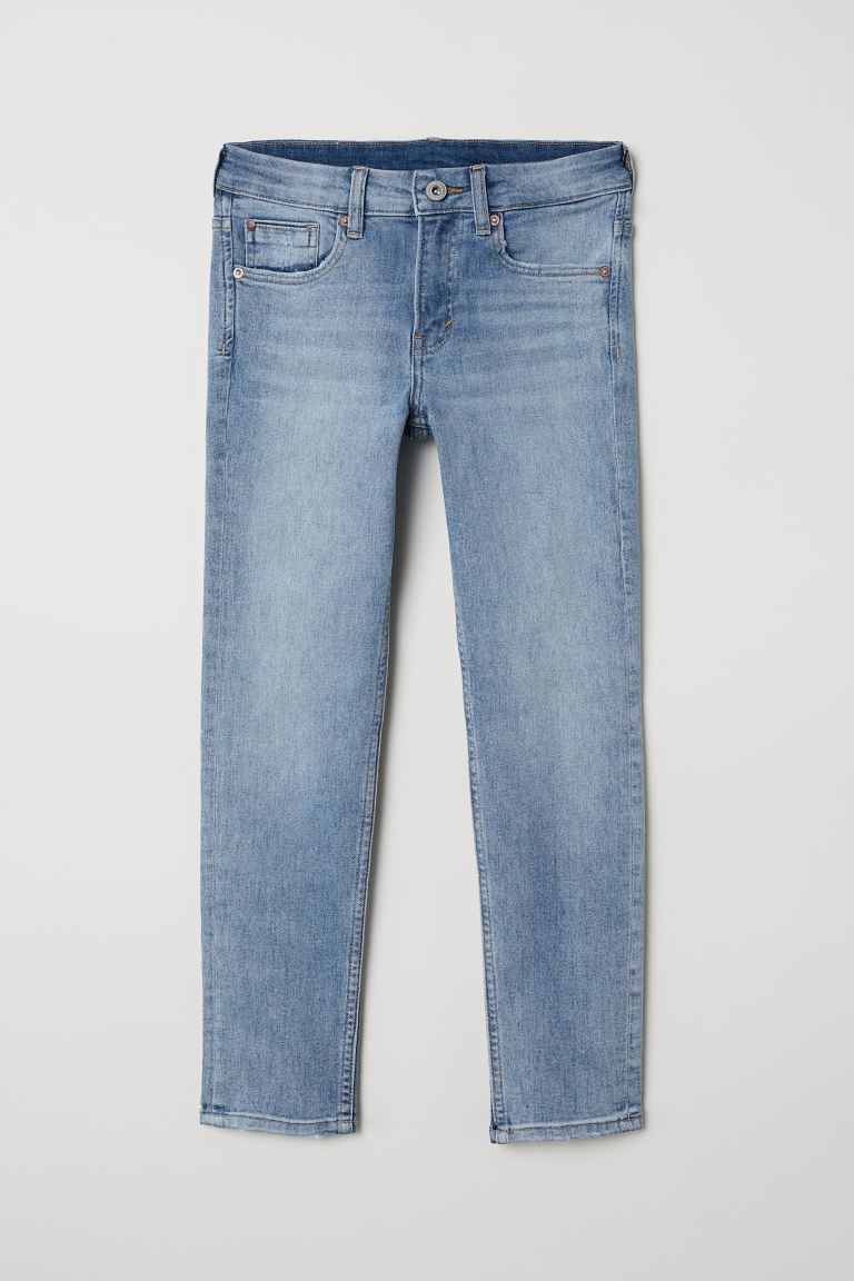 Superstretch Skinny Fit Jeans - Светлосин деним - ДЕЦА | H&M BG