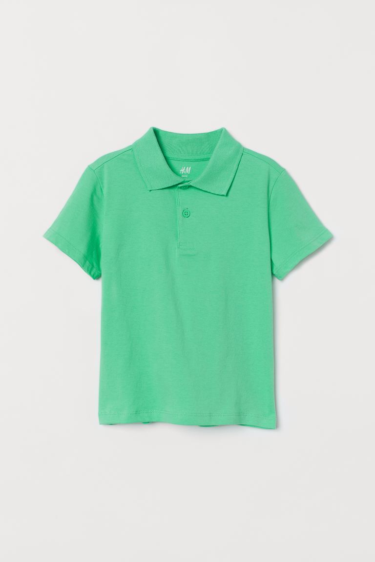 Polo Shirt - Light green - Kids | H&M US