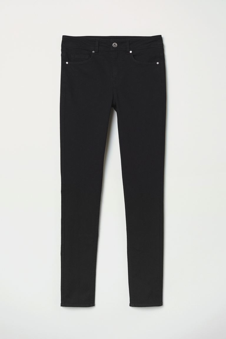 Super Skinny Jeans - Black - Ladies | H&M IN
