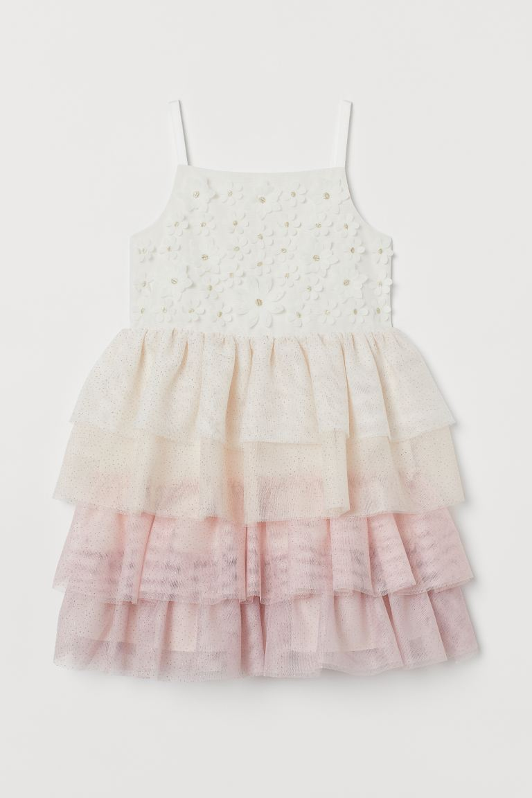Glittery tulle dress