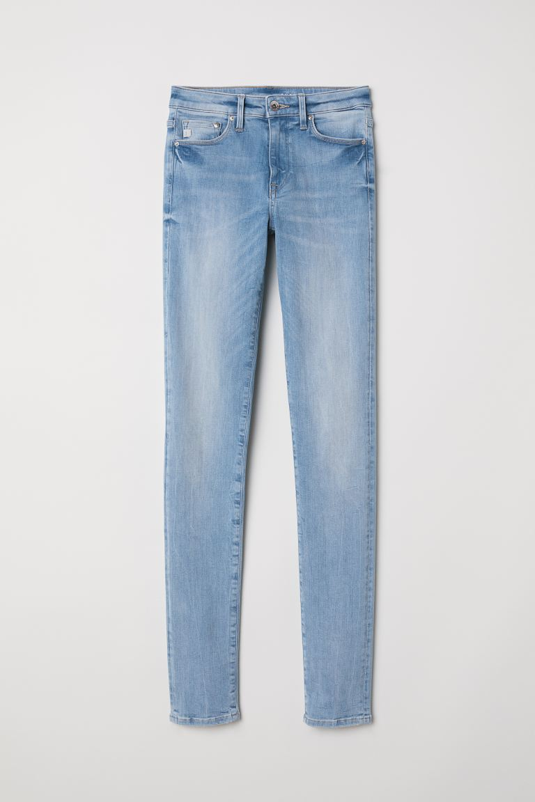 Shaping Skinny Regular Jeans - Denimkék - NŐI | H&M HU