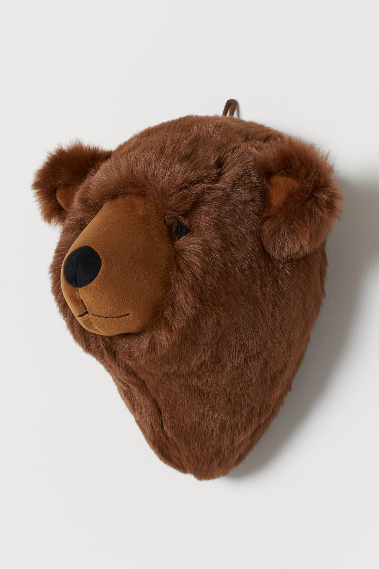 Wall decoration - Brown/Bear - Home All | H&M IE