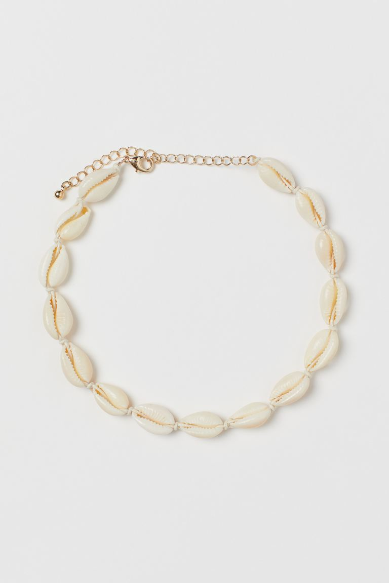 Shell necklace - Natural white - Ladies | H&M