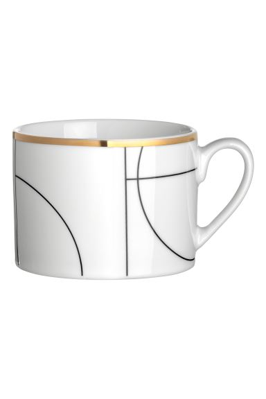 Patterned cup - White/Patterned - Home All | H&M IE