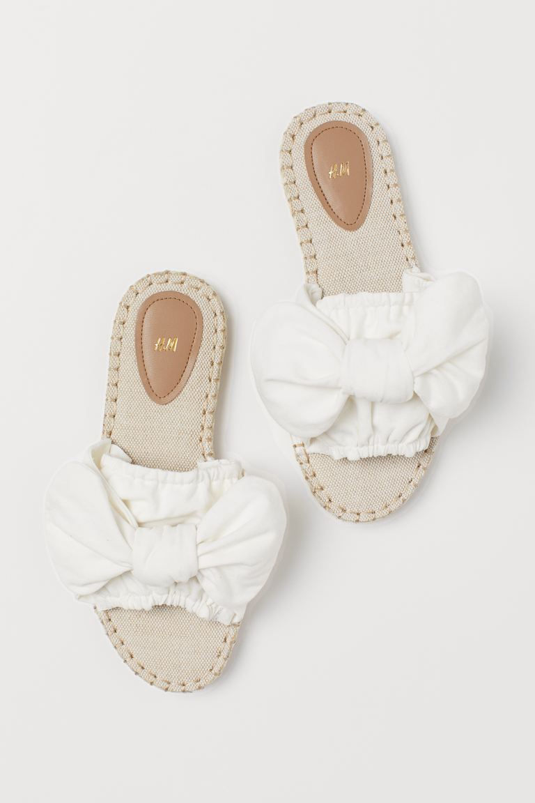 Slides - White -  | H&M GB