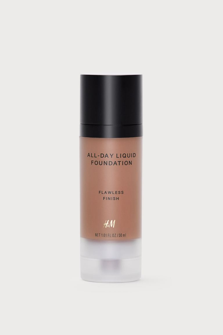 All-Day Flüssige Foundation - Ebony - Ladies | H&M DE