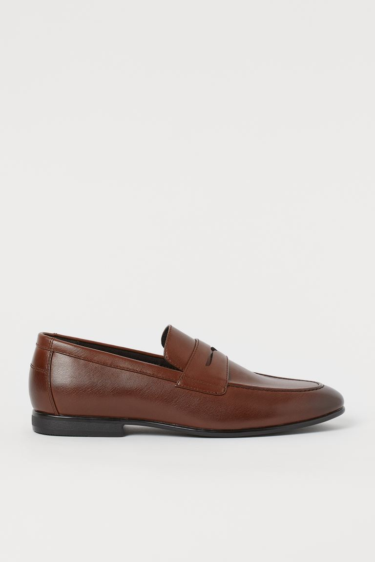 Mocassins - Marron/imitation cuir - HOMME | H&M FR