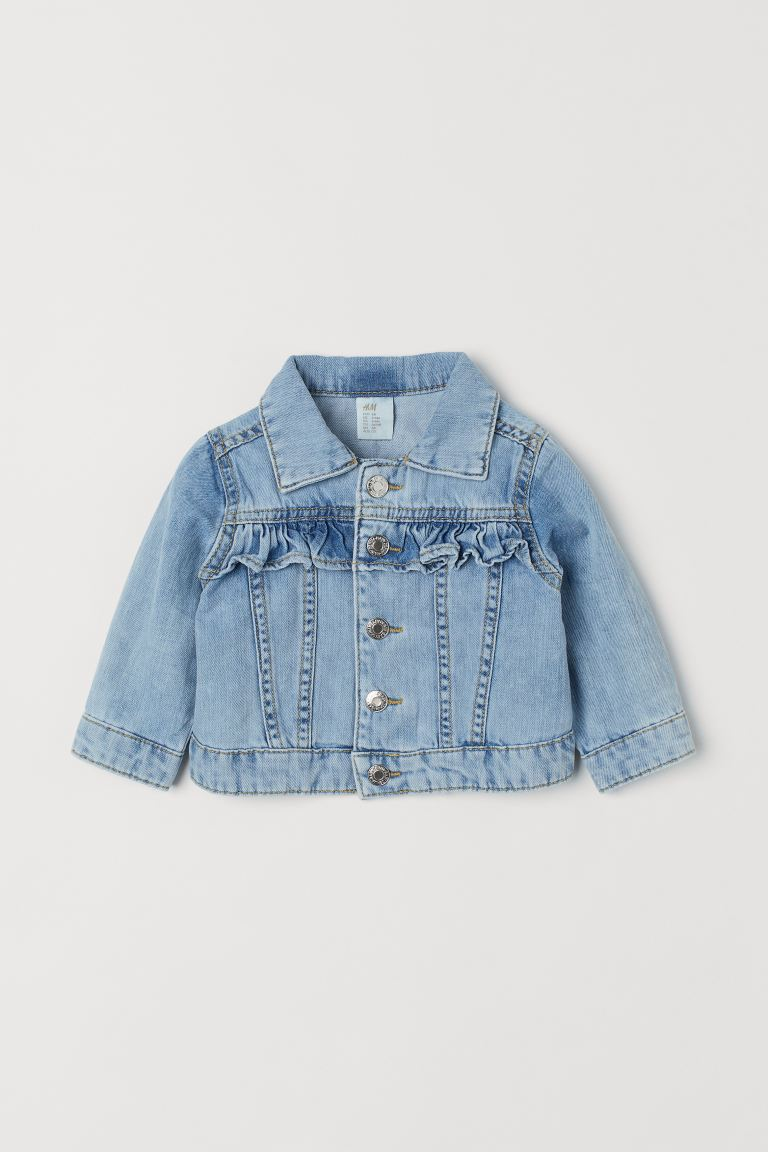Denim jacket - Light denim blue -  | H&M GB