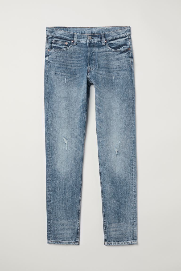 Slim Jeans - Blu denim - UOMO | H&M IT