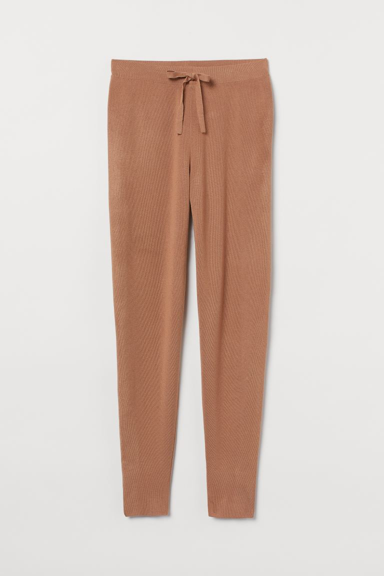 Feinstrick-Joggers - Beige - Ladies | H&M AT 4