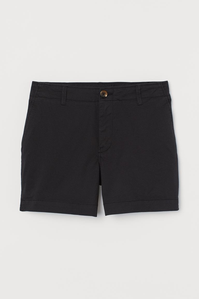 huge inventory most popular lower price with Short chino shorts - Black - Ladies | H&M