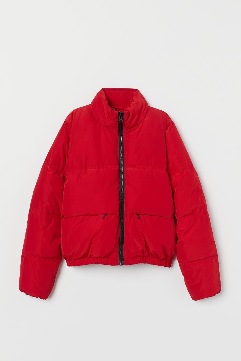 Padded jacket - Red - Ladies | H&M GB