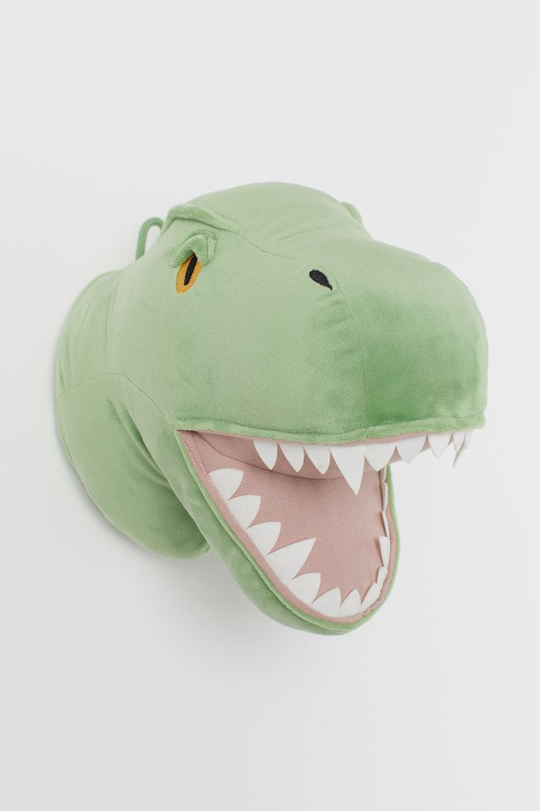 Decoración de pared - Verde claro/Dinosaurio - HOME | H&M ES
