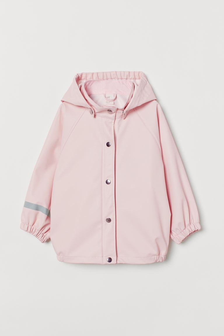 Rain Jacket - Light pink -  | H&M US