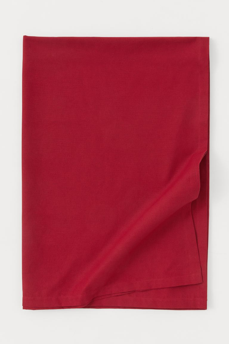 Cotton tablecloth - Red - Home All | H&M IE