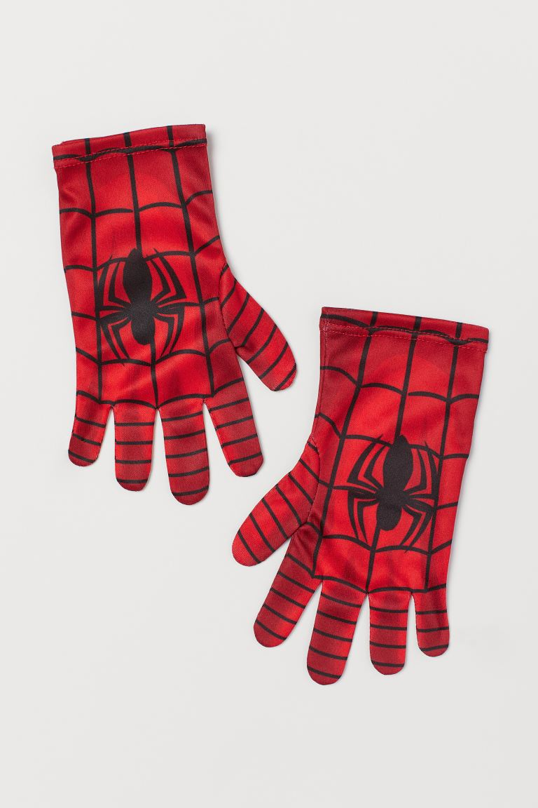 Superhero Gloves - Red/Spider-Man - Kids | H&M US