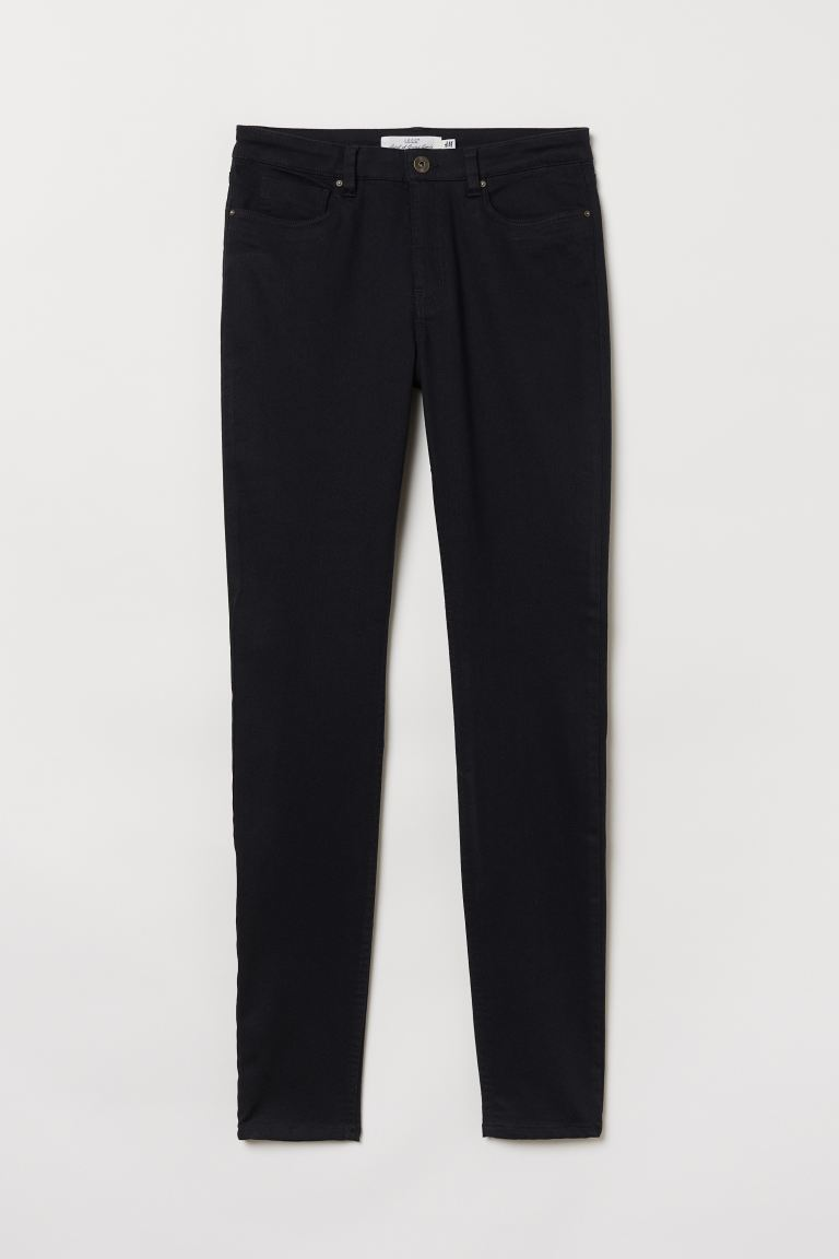 Super Slim-fit Pants - Black - Ladies | H&M US