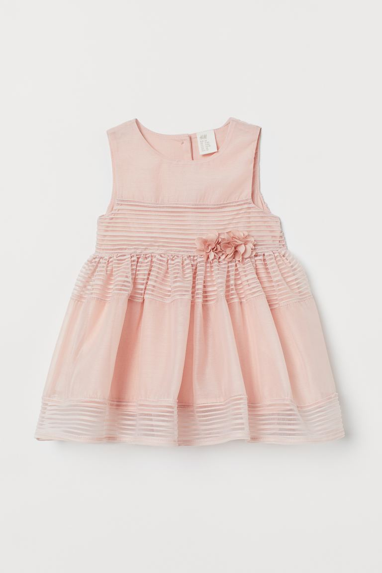 Appliquéd dress - Pink - Kids | H&M