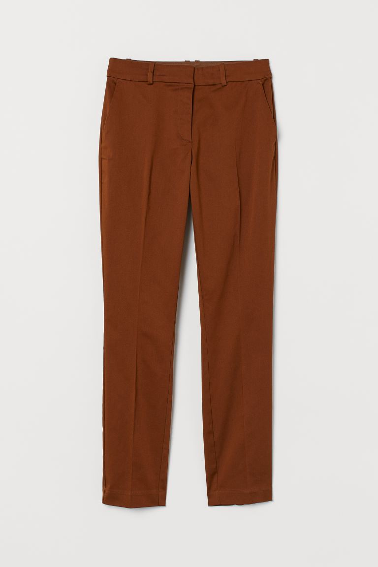 Slacks - Braun - Ladies | H&M DE