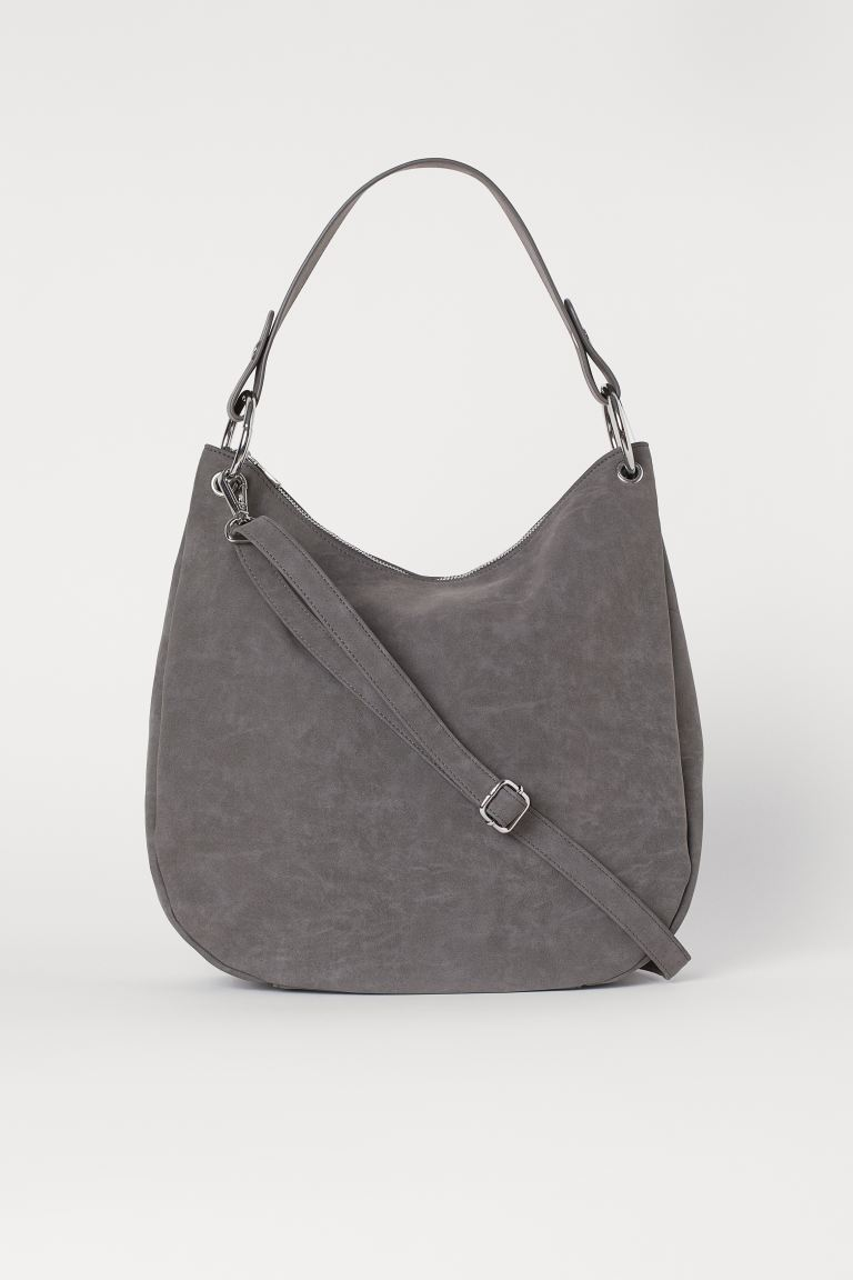 Bolso hobo - Gris oscuro - MUJER | H&M ES
