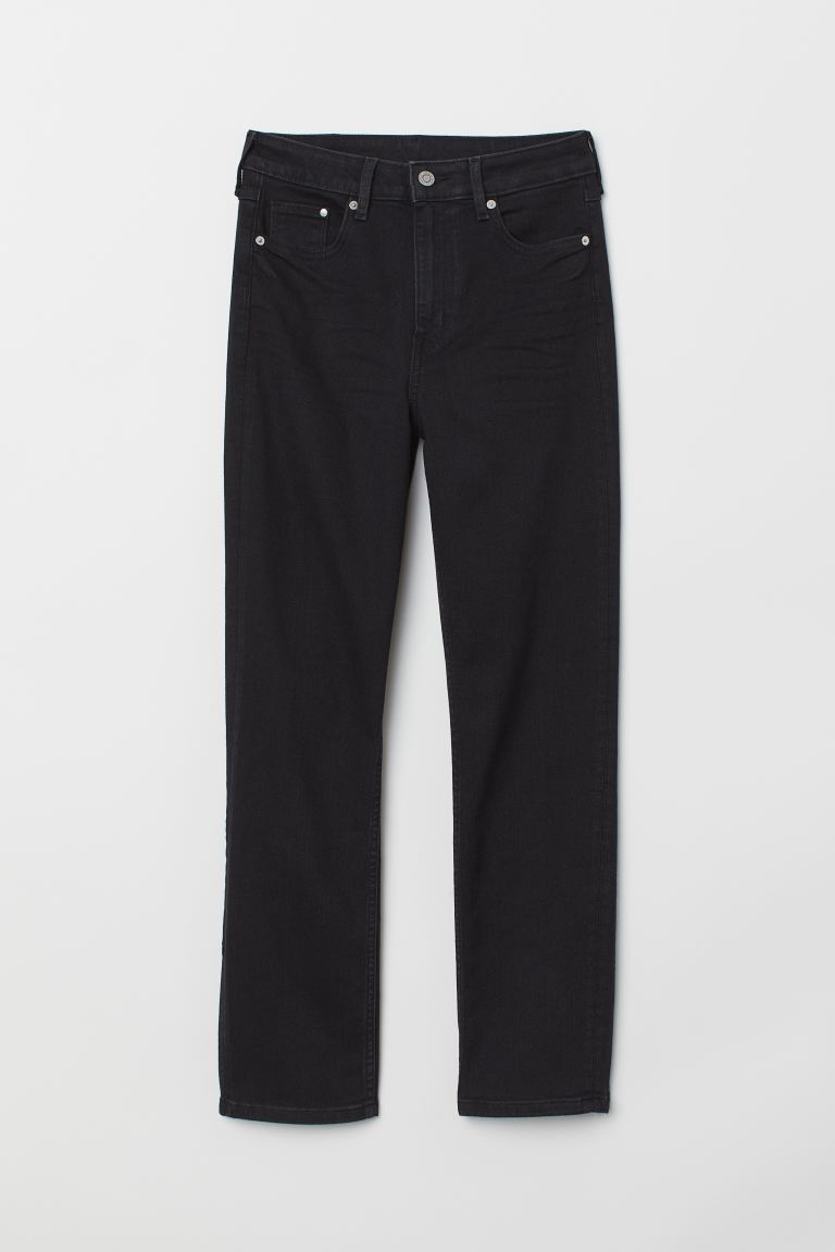 Vintage Slim High Ankle Jeans - Schwarz - Ladies | H&M DE