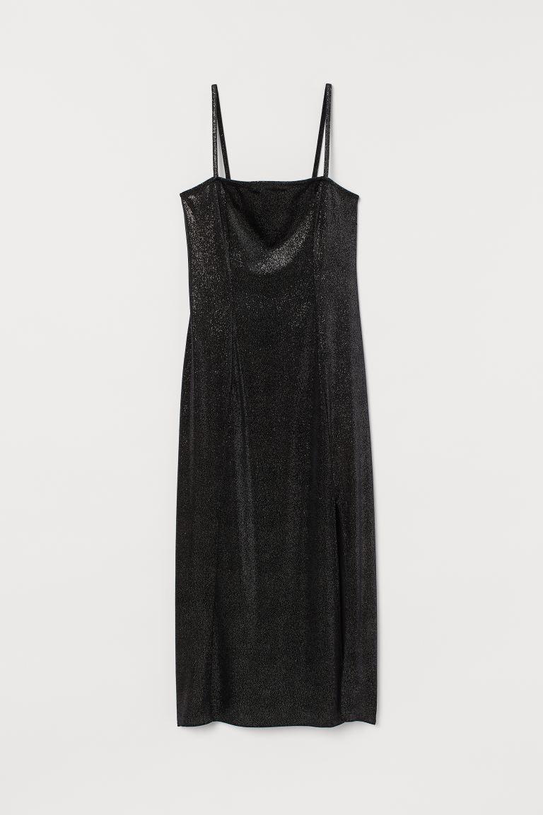 Блестящее платье из велюра