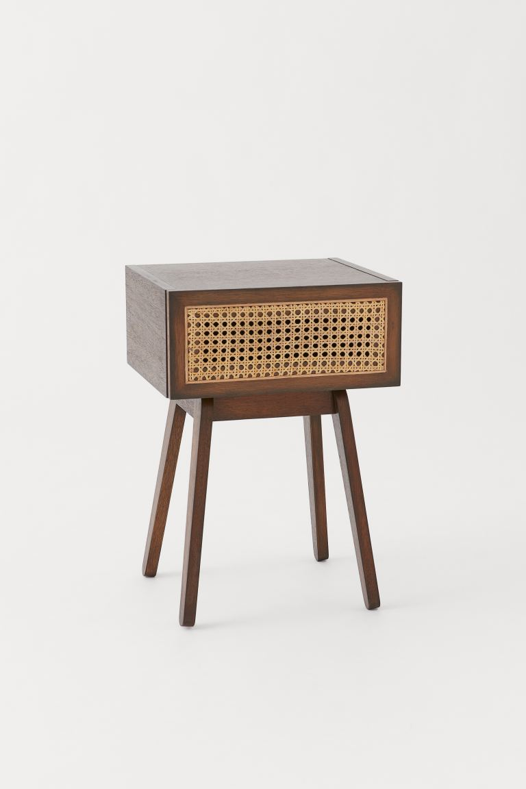 Table de chevet - Marron/rotin -  | H&M FR