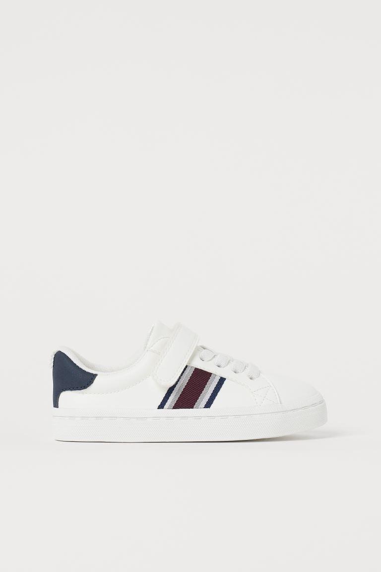 Trainers - White/Stripes - Kids   H&M GB