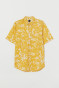 Mustard yellow/patterned