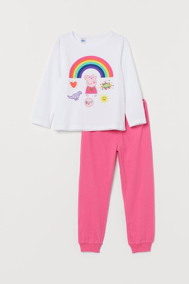 jersey bottoms i love pink