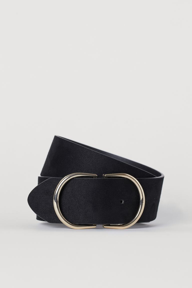 Wide Waist Belt - Black - Ladies | H&M CA