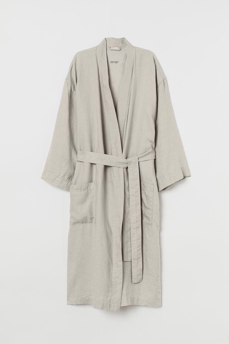 Come Lavare Il Lino vestaglia in lino lavato