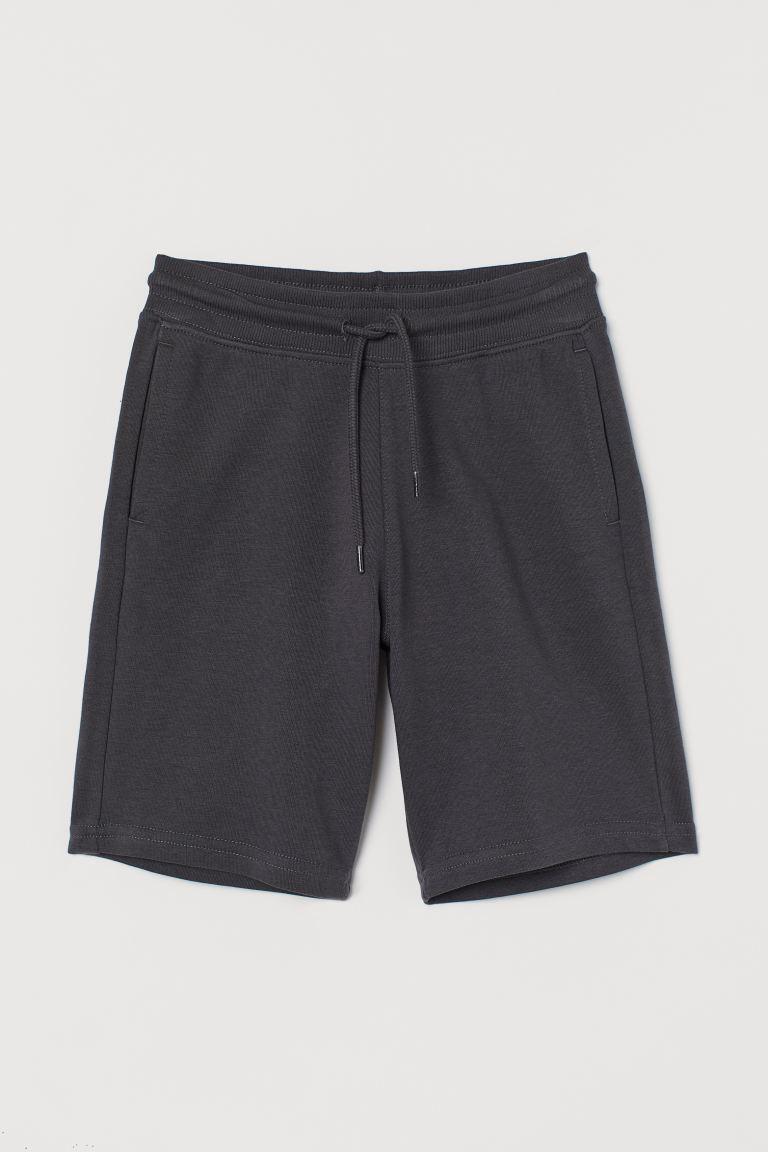 Sweatshirt shorts - Steel grey - Kids | H&M GB