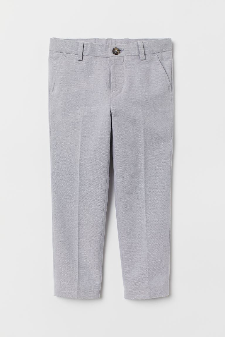 Suit trousers - Light grey - Kids | H&M IN