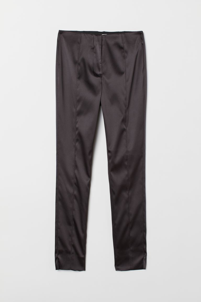 Satinhose - Schwarz - Ladies | H&M DE