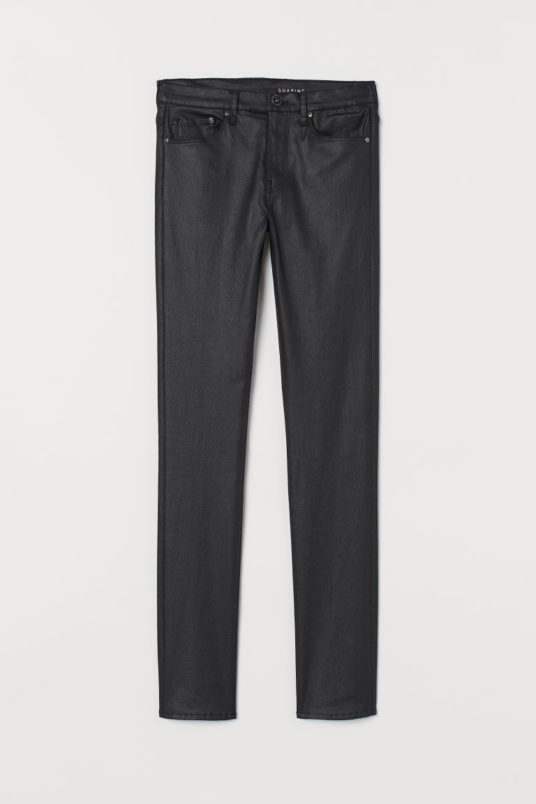 Shaping Skinny Regular Jeans - Schwarz/Coating - DAMEN | H&M CH