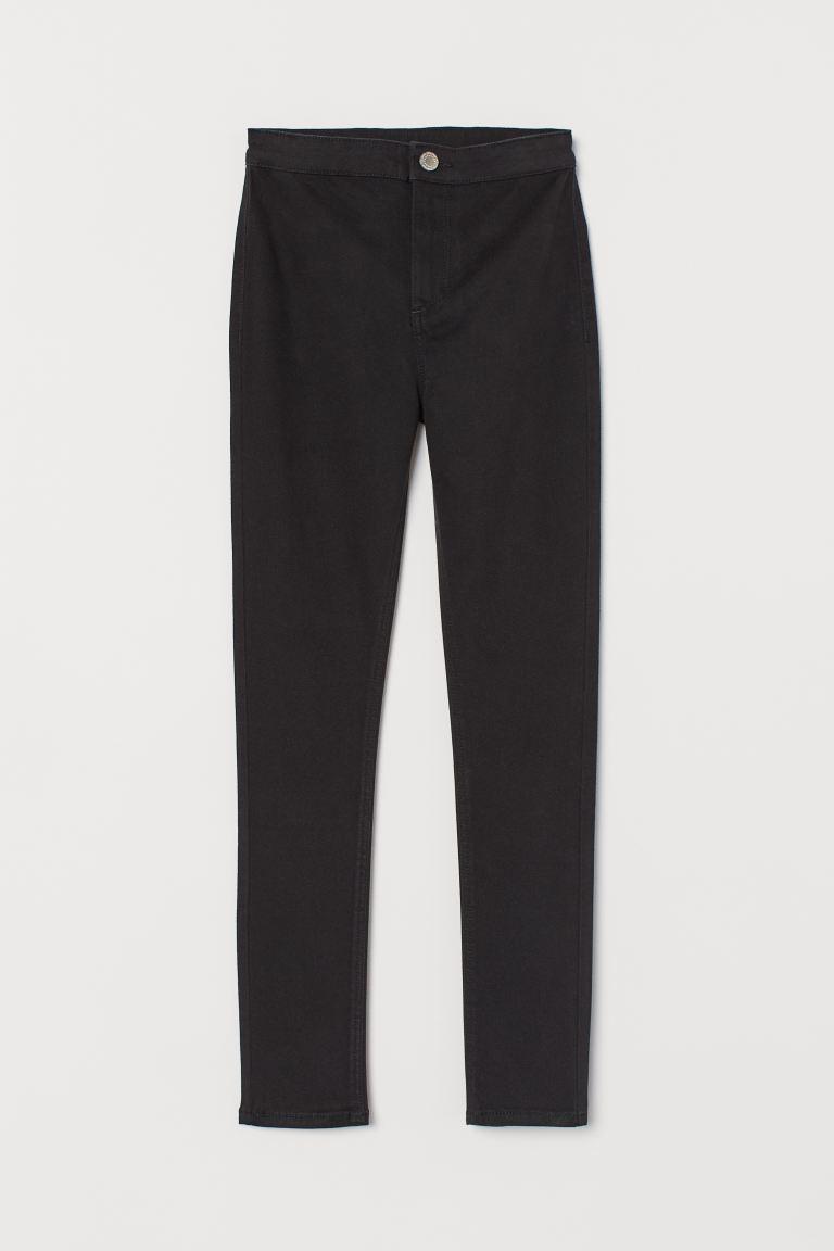 High Waist Trousers - Black - Kids   H&M GB