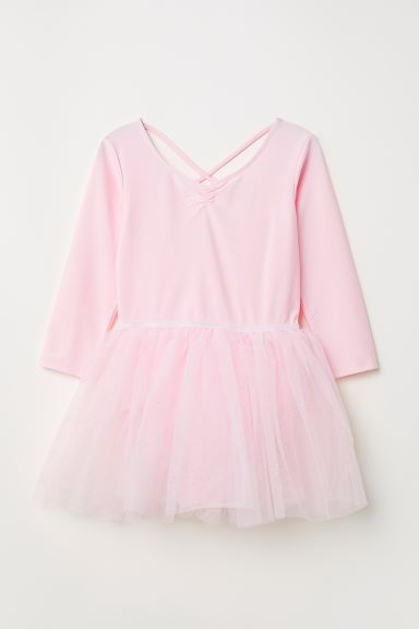 Dance leotard with tulle skirt - Light pink - Kids | H&M GB