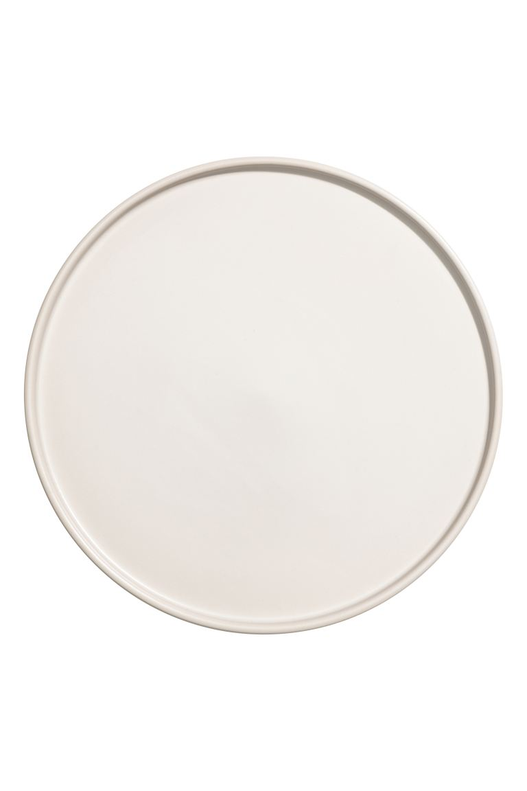 Stoneware Plate - White - Home All | H&M US