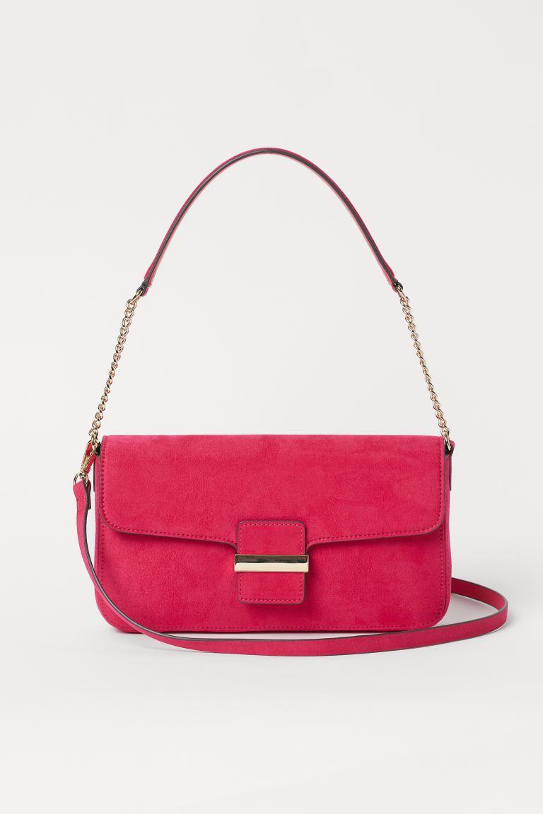 Shoulder Bag - Cerise - Ladies | H&M US